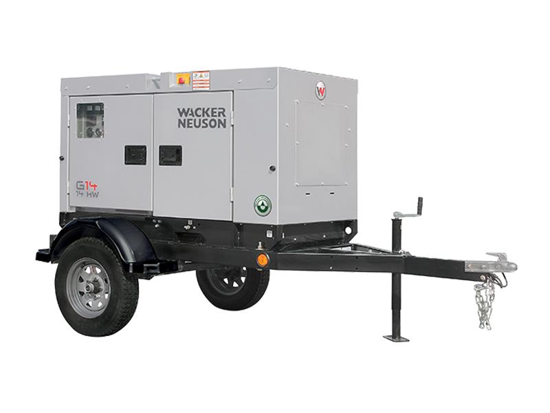 14kw Towable Generator Franklin Equipment Cincinnati